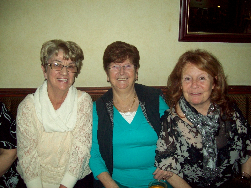 Some of our carers at our Christmas Party in 2012