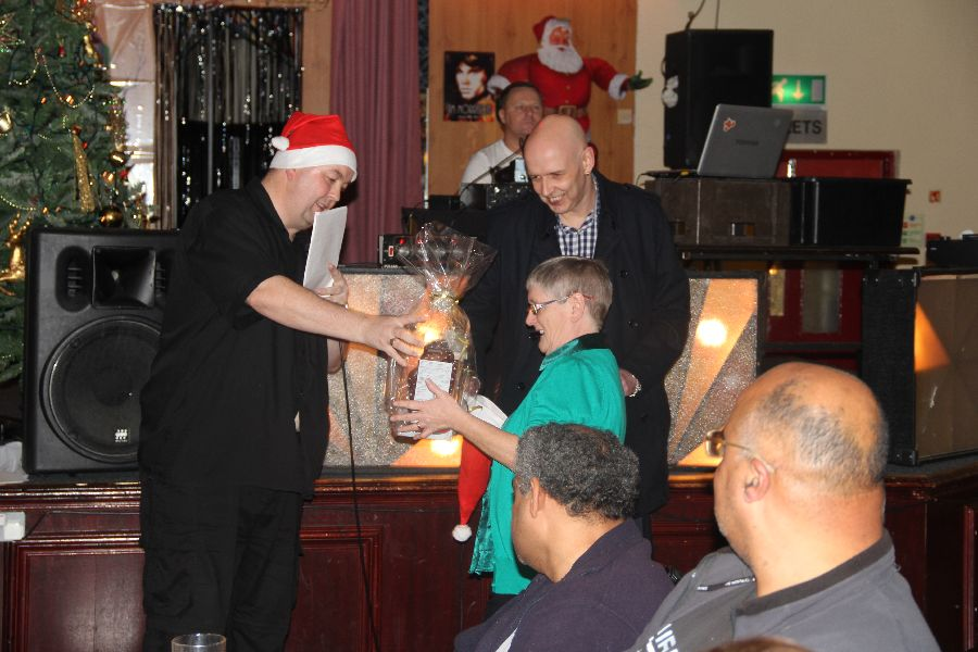 Our 2013 Christmas party - taken by Tom, one of our carers