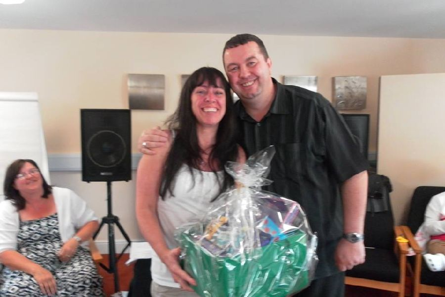 Winner of our hamper kindly donated by Cadburys