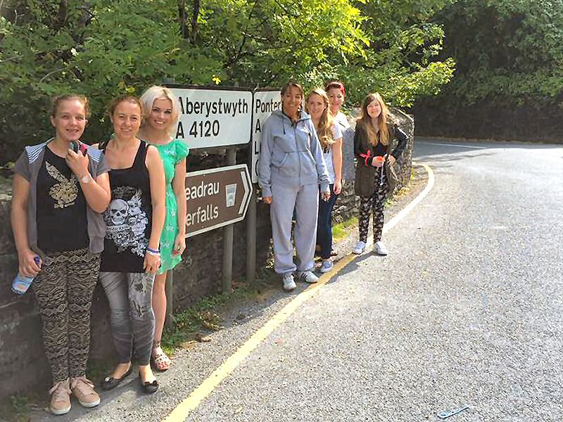 Carers Residential stay at Kerry Farm, Wales